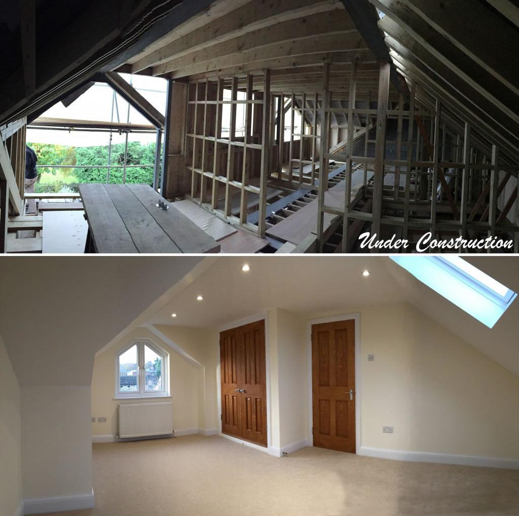 truss roof attic conversion