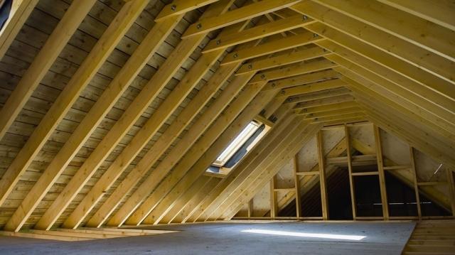 large truss roof attic conversion